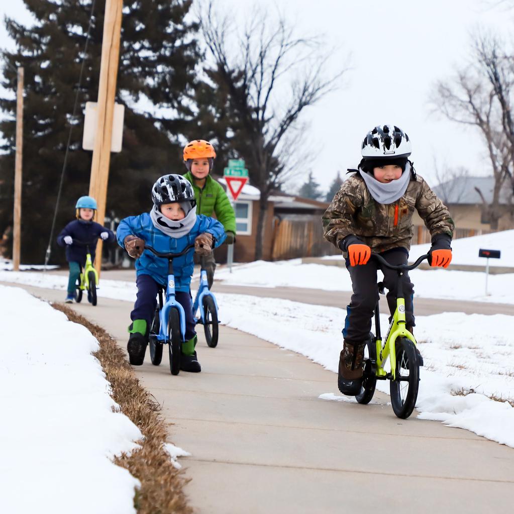Stride On! Riding A Bike Improves Social Skills In Children!